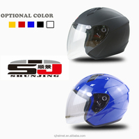 new ABS material halft face motorcycle helmet