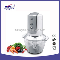 Low noise electric mini food chopper food processor