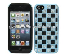 rhinestone bling cell phone case cover,new design bling diamond mobile phone case for iphone 5 5s