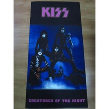 Kiss Creatures Of The Night Band Beach Towel BT-727