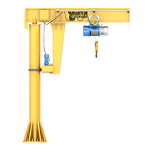 electric hoist light duty boat 5 ton portable jib crane