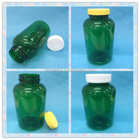 Colored PET 750g plastic medicine bottle with plastic cap,pill container