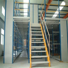 warehouse storage rack metal 2 floors heavy duty mezzanine shelves racks