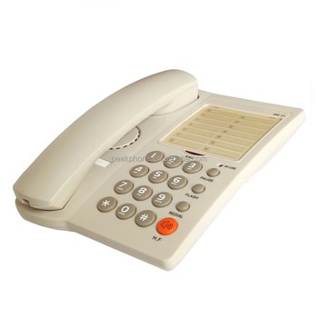 OEM Service Office Telephone Desktop Telephones with Number sticker