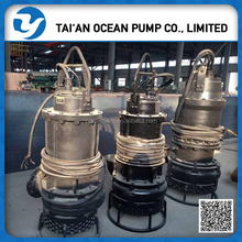 submersible dredging slurry dredger pumps station