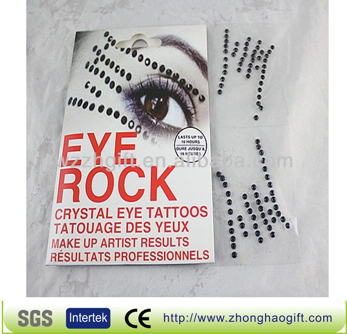 Eyebrow and eyeshadow sticker bindi wholesale
