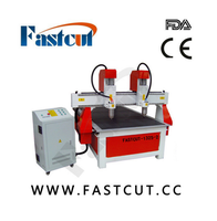 fastcut 1325-2 double color board lotus plates straight teeth skewed tooth cnc wood carving machine