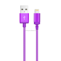 2016 High Quality Fast Speed Transfer Cable For Iphone5s 8pin Usb To Mini 8pin CableFor Samsung S3 S4 S6/htc/huawei And IOS9.3.4