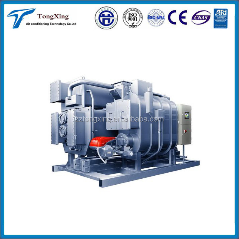 Double Screw Compressors Water lithium bromide absorption chiller