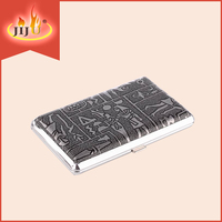 2016 JL-024N Yiwu Jiju wholesale Cigarette Case Leather Cigarette Box Case