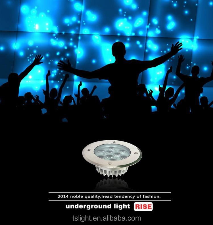 9w led underground lighting IP65 hot new products for 2015 china online shopping