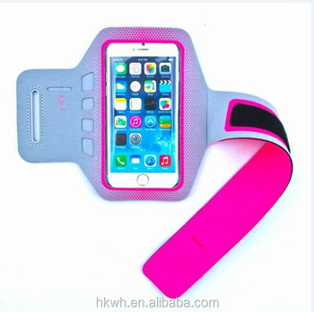 Factory made wholesale running reflex belt arm band case for iphone 6s 7