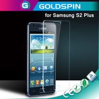 GOLDSPIN 9H Screen Protector, Tempered Glass Screen Protector for Samsung Galaxy S2 Plus