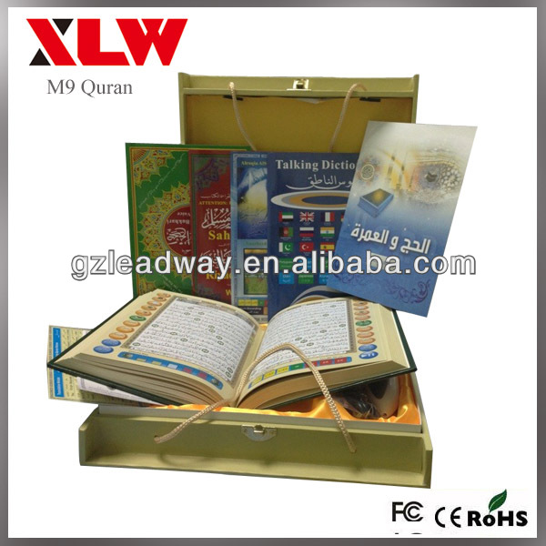 holy al quran read pen for M9 talking pen with 4G memory