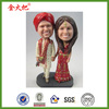 Personalized polyresin india people bobble heads