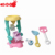 2018 Summer beach toy with beach cart for kid plastic beach toy set