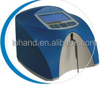 Two samples self-calibration portable milk fat testing machine