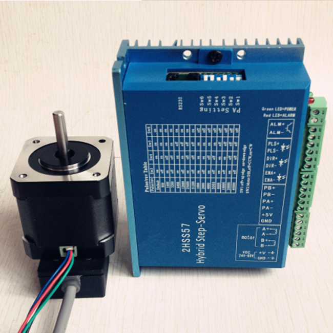 closed loop nema 17 hybrid stepper motor ,42mm encoder integrated two phase for wire,body length 48mm