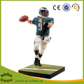 Custom Plastic rugby player toys/Custom rugby player