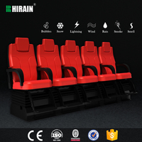 4D 5D 7D 9D motion theater,cinema theater equipment motion seat