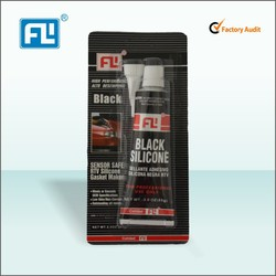 Quick Dry Black RTV silicone Sealant/super glue