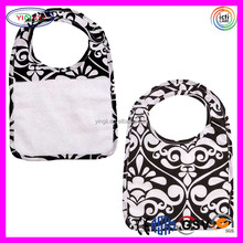 C713 Baby Bib 100% Cotton Terry Cloth Blanket Magnetic Closure Wrap Around Collar Magnetic Blanket