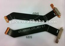 For samsung Galaxy Note 10.1 GT-N8000 charger dock flex cable strip