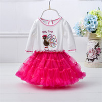 western style latest girls frock frill designs for party