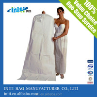 breathable wedding dress garment bag wholesale
