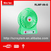 Plastic Handle Table Fan with Battery with USB Mini Fan