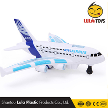 Model Flashing Sound Electric Airplane Children Kids Toys Gifts Unmanned Plane Light Music Universal Airbus a380 RC Plane RTF