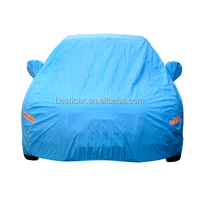 High Quality Advertising Retractable Car Cover PVC cotton with zipper car cover