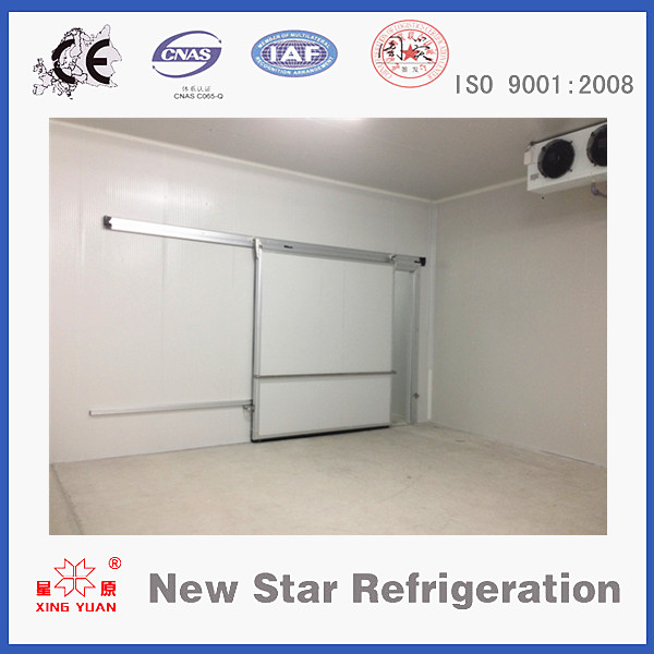 Walk in freezer/cold storage room standard sliding doors manufacturer