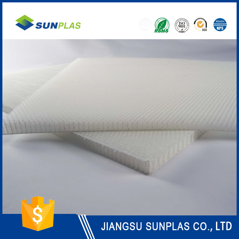 Chemical resistant material pp honeycomb panel