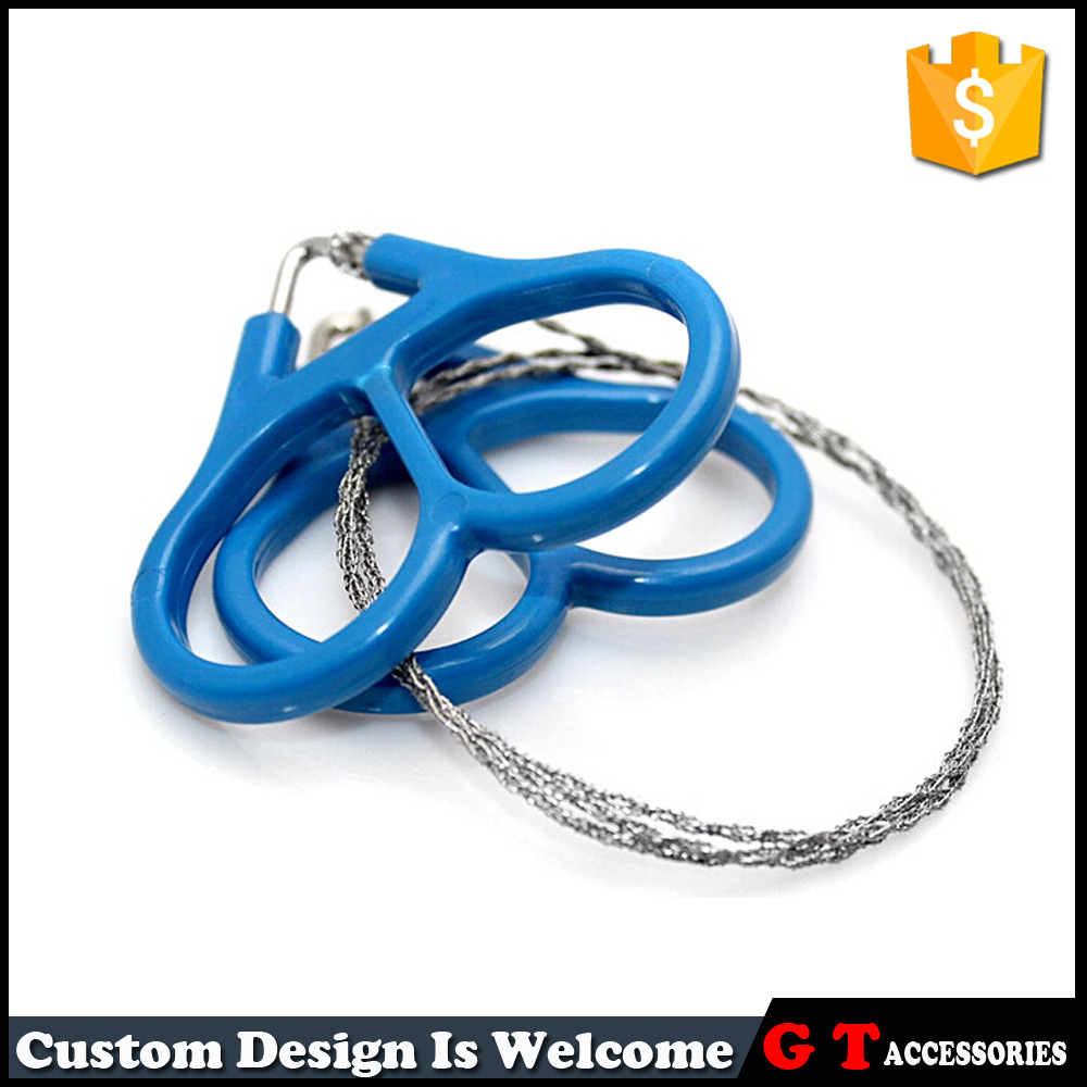 360 Degree Rotating Stainless Steel Wire Chain <strong>Saw</strong> For Outdoor Sports Lifesafing
