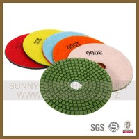 3 inch wet floor polishing pads for marble