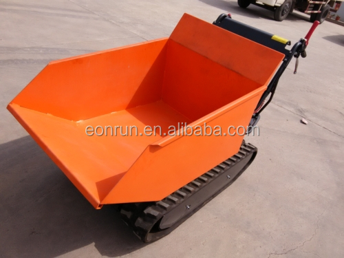 9.0HP gasoline mini transporter/earth moving equipment