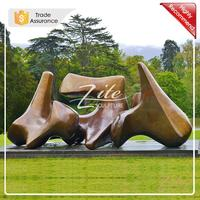 High Quality Henry Moore Bronze modern abstract garden sculpture