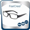 Slim Rimless Optic Reading Glasses With