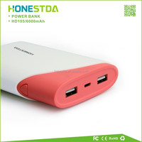USB Charger Mobile Cell Phone Universal Portable 10400mAh Power Bank