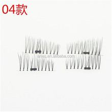 3D Magnetic Eye Lashes Reusable False Magnet Eyelashes Extension