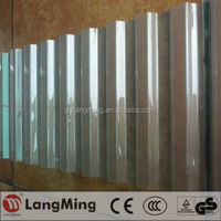 plastic corrugated roof sheet
