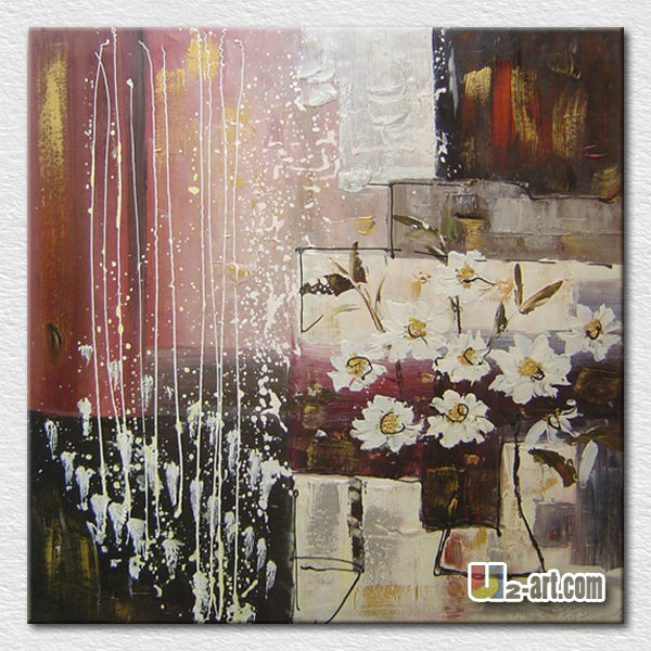 Wall pictures abstract flower vase painting <strong>designs</strong>