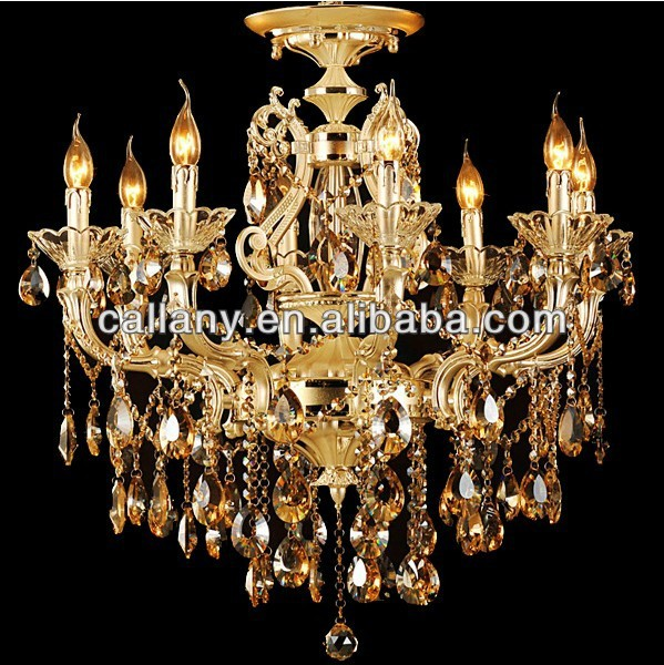 European style Egypt crystal lighting candle chandelier lamp