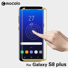 Mocolo 0.3MM 3D Curved Tempered Glass Screen Protector, Full Cover For Samsung Galaxy S8 Plus