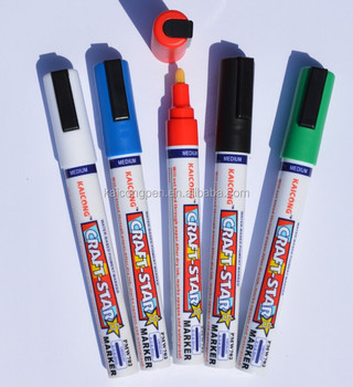 DecoArt Paint marker Japanese acrylic nib /Water-based/Acrylic paint marker/Valve Action Paint marker