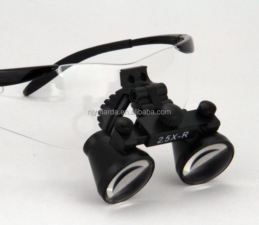 Ymarda CM2.5x Loupes Magnifiers Jewelry Tools & Equipments Type Headband Magnifier Dental Loupes