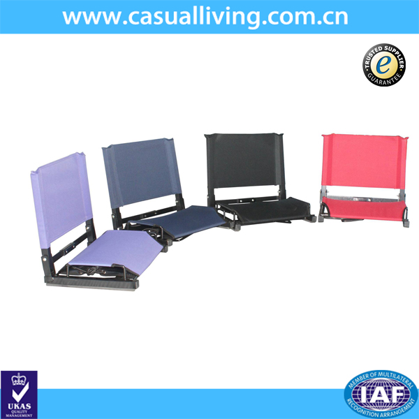 Design best sell fold up wholesale football portable stadium seats