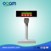 LED8A 360 degree rotation angel 8 segment electronic price customer pos display made by Chinese factory