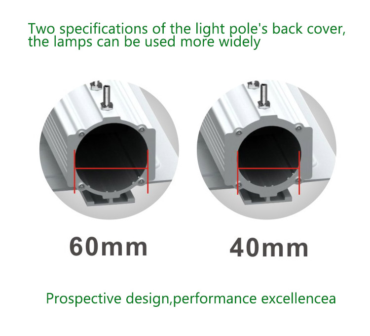 New 2018 high brightness aluminum led road light public lighting lamp waterproof ip65 40w outdoor lamp manufacturer in China
